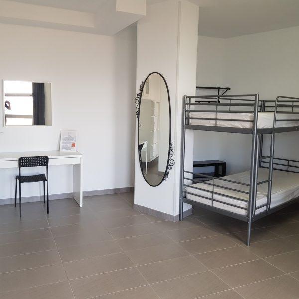 Habitación compartida femenina
